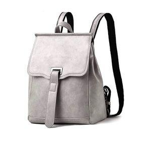 Handbags - NWT GRAY BACKPACK PURSE
